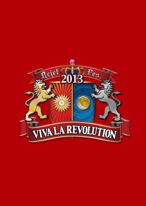Rejet Fes 2013 VIVA LA REVOLUTION イベントパンフレット